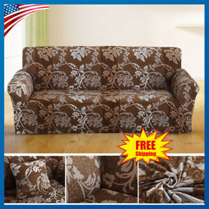Image Is Loading Sofa Covers 1 2 3 Seater Fl Slipcover