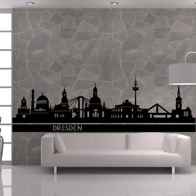 247+ Wandtattoo Wandaufkleber Skyline DRESDEN Stadt Deutschland capital town