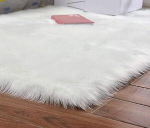 Image Is Loading Faux Fur Sheepskin Rug Plush