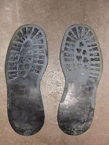 De Chaussures Pirelli Semelles Pour Extérieures Paire Ou Cousues T46 Rangers lFJKc1