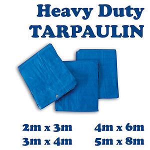 4-Sizes-of-Heavy-Duty-Tarpaulin-Blue-Waterproof-Strong-Cover-Ground-Sheet-Tarp