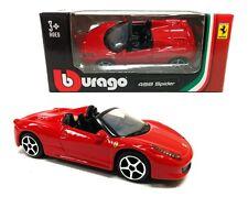 Bburago 1:64 Ferrari 458 SPYDER Race & Play Assortment Diecast Car Model