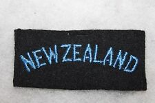 Original WW2 New Zealand Military Wool Uniform Shoulder Tab/Patch