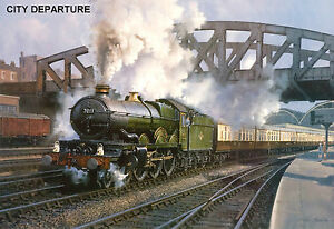 PréCis Hornby Dublo In Railway Art 10 Prints 11 - 20 Signed And Limited.