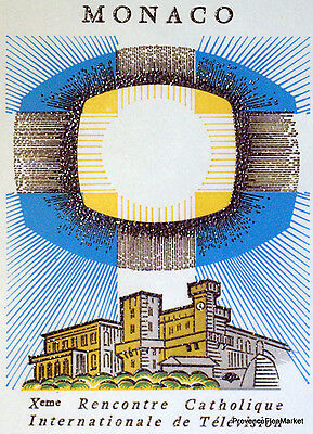 Begeistert Television Katholisch 1966 Briefmarke Monaco Premier Tag Fdc Yt 706 Monaco