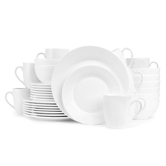 Melange Coupe 32 Piece Porcelain Dinnerware Set Wild Animals Service For 8 For Sale Online Ebay