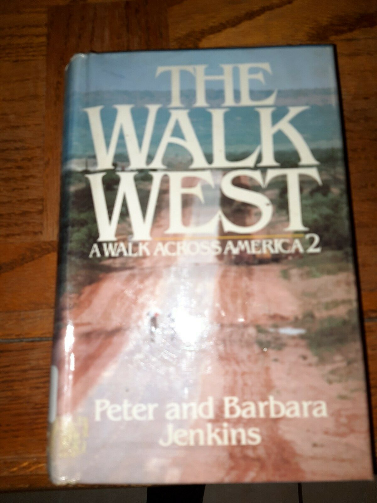 Map Route Of A Walk Across America Peter Jenkins Walked on