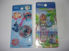 Disney Japan Lilo & Stitch Cell Phone Strap Cleaner Dangle Mascot Lot Of 2 PVC