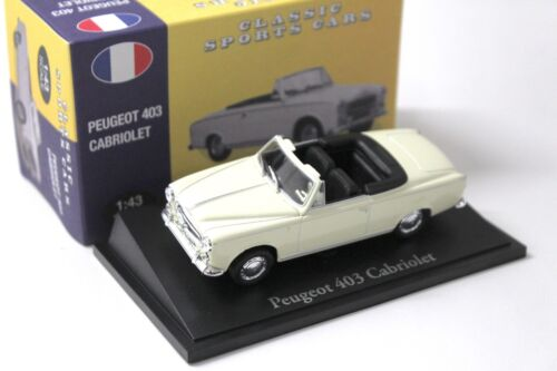 1:43 Atlante by NOREV PEUGEOT 403 Cabriolet Classic Cars new in Premium-MODELCARS