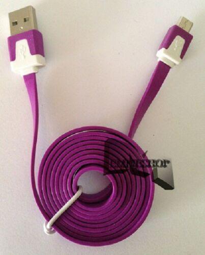 CAVO SINCONIZZAZIONE USB MINI USB IN GOMMA PER SAMSUNG GALAXY S  S2 S3 S4 mshop