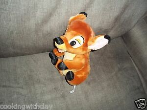 Plush Doll Figure Baby Disney Bambi Doe Deer Stuffed