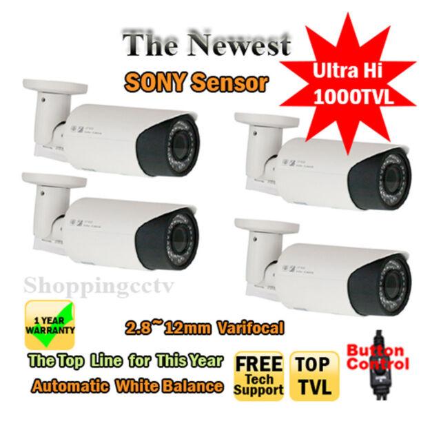 "GW 1/3"" Color SONY CCD 1000 TV lines, 2.8~12mm 42PCS LED,115 feet IR W/AC"