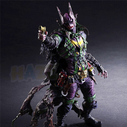 Play Arts Kai Batman Rogues Gallery The Joker Action Figure Model Toys In Box