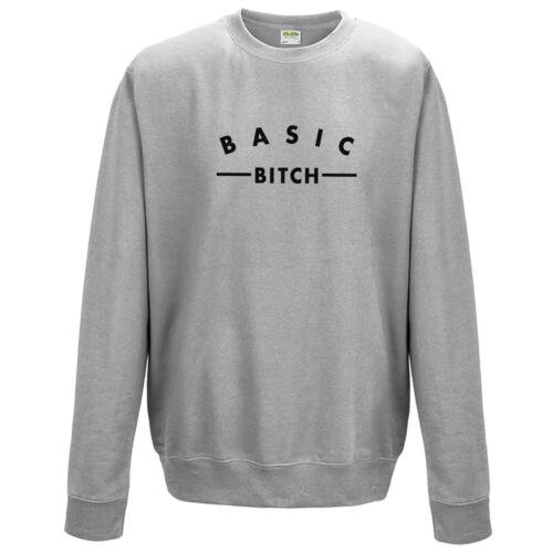 Basic chienne sweat-shirt-funny tumblr casual cadeau mode unisexe neuf