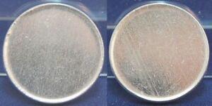2 M-ROHLINGDDR IN Aluminium, J.1516 - Noch Unbeprägt Lack Coinage, Xf-Bu
