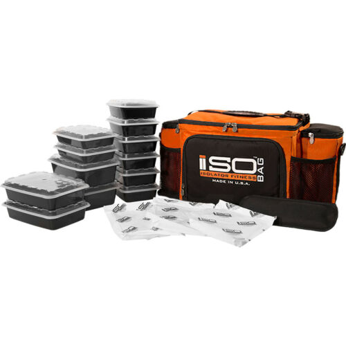 Isolator Fitness 6 Meal ISOBAG Meal Prep Management Bag