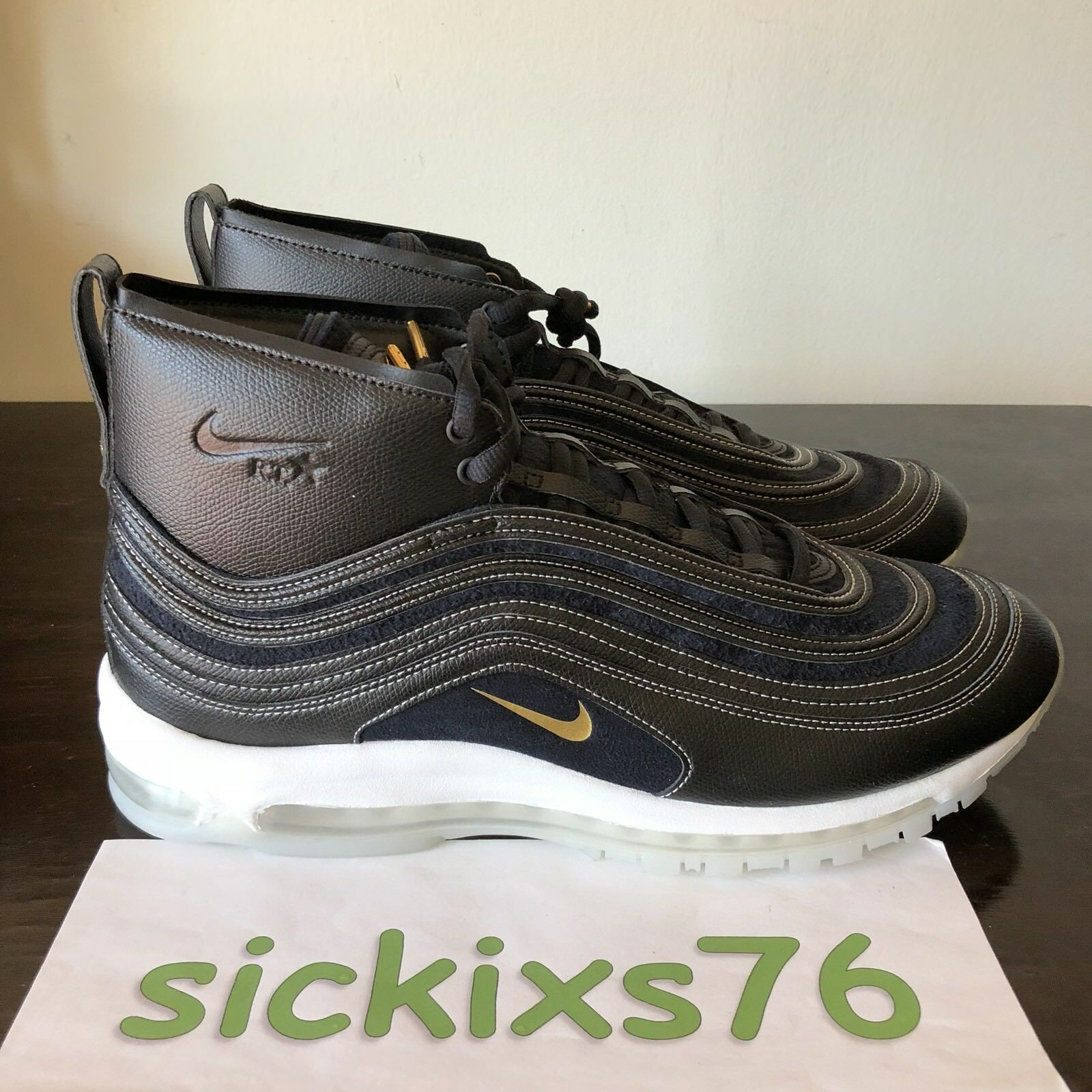 DS Men's NIKE AIR MAX 97 MID / RT 'Ricardo Tisci' Sz 14/[913314 001]