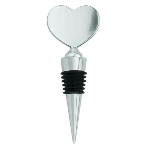 Pink Roses and Butterly Heart Love Wine Bottle Stopper