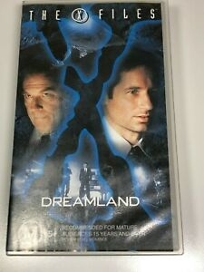 The-X-Files-VHS-Video-Tape-The-X-Files-x2-Titles-DREAMLAND-DREAMLAND-II-VGC
