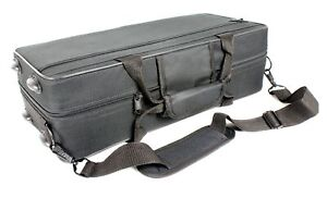 CASE-for-Curved-Soprano-Saxophone-Black-Canvas-Case-ONLY-NEW