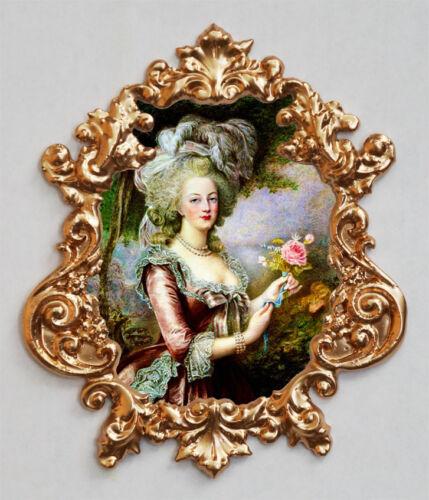 Marie Antoinette-7 Applique,Furniture mount//decor,Faux ormolu.