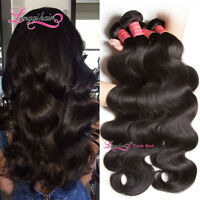 Longqi Filipino Body Wave Human Hair Bundles Wet And Wavy Virgin Hair Extensions