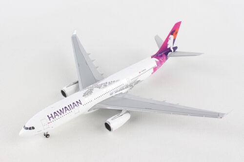 Gemini Jets Hawaiian Airbus A330-200 New Livery GJHAL1787 1//400 REG# G-VMIK.NIB