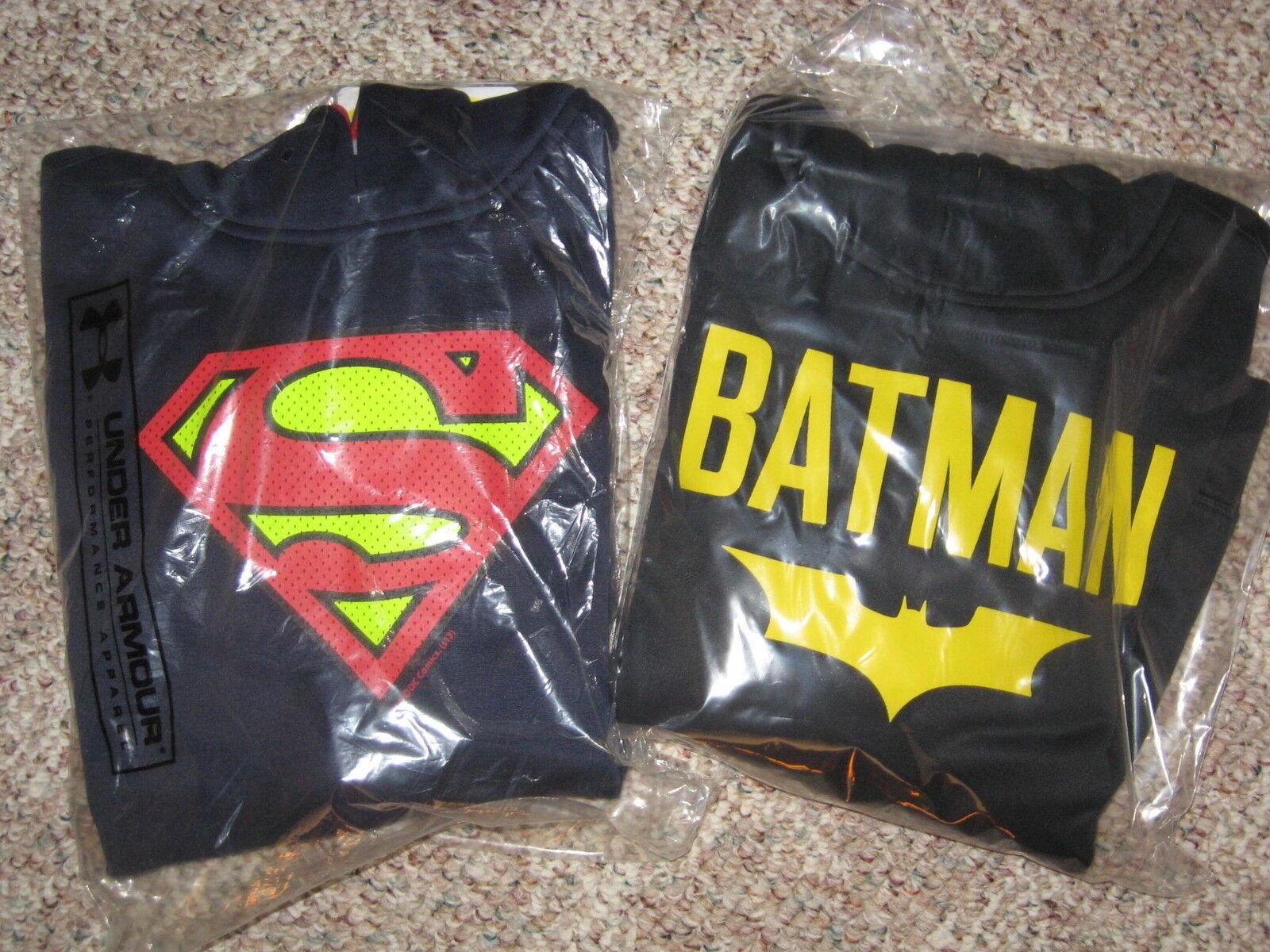 UNDER ARMOUR Storm HOODIE Superman or Batman Hero YOUTH Small or Medium
