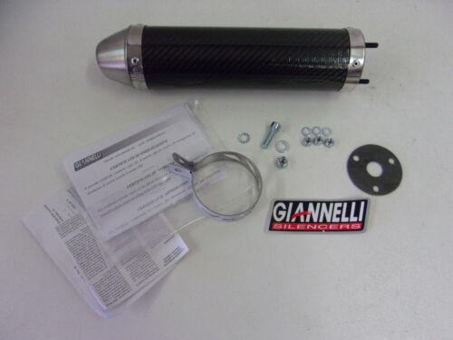 Giannelli Carbon Sport Auspuff Endschalldämpfer Endtopf Aprilia RS4 Derbi GPR 50