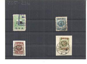Memel-Litauen-1923-Einzelmarken-aus-MiNrn-129-192-o-gestempelt-o