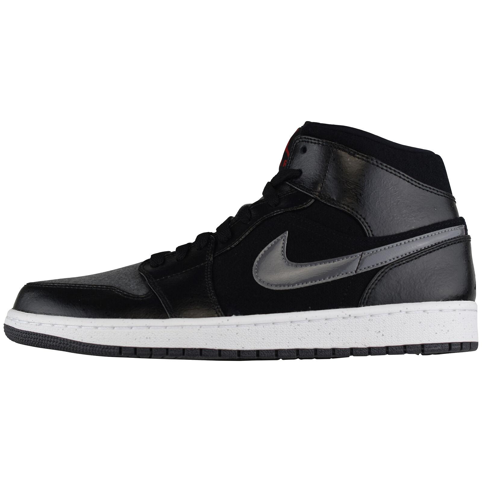 Nike Air Jordan 1 MID PREM 852542-001 Basketball Laufschuhe Run Freizeit Turnschuhe Ausgezeichnete Qualität