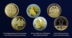 3-Pcs-2014-Philippine-Coin-Commemoratives-FREE-SHIPPING-WITHIN-THE-PHILIPPINES