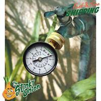 Water Pressure Test Gauge