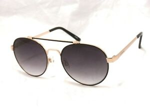 46064088bf370 Image is loading Lucky-Brand-D926-Unisex-Round-Metal-Sunglasses-Black-