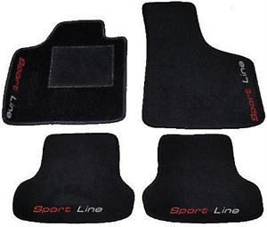 /'12 Tappeti AUTO Decori AUDI A3 8P 8PA S LINE /'03 Tappetini 4 Block....13