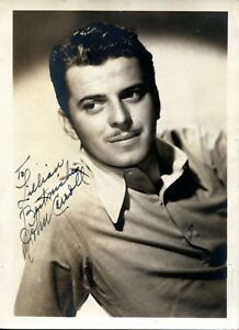 John Carroll Famous Actor 1940 S Signed Vintage Autograph Photo 5x7