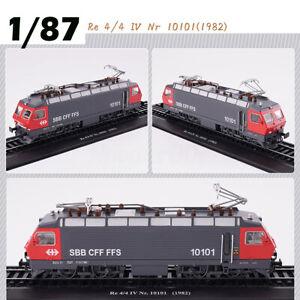 Locomotive-1-87-Retro-Train-Model-Re-4-4-IV-Nr-10101-1982-Collection-Decoration