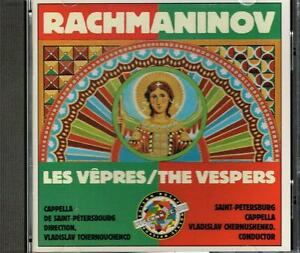 Rachmaninov: Vesper / Vladislav Tchernouchenco,Cappella Di Sankt Petersburg - CD