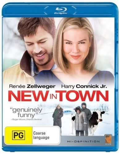 1 of 1 - New In Town (Blu-ray, 2009) VGC Pre-owned (D85)