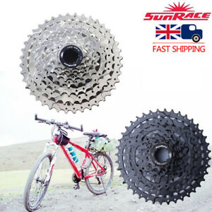 SunRace-8-Speed-11-40T-MTB-Bike-Cassette-fit-SHIMANO-SRAM-Flywheel-Adapter-UK