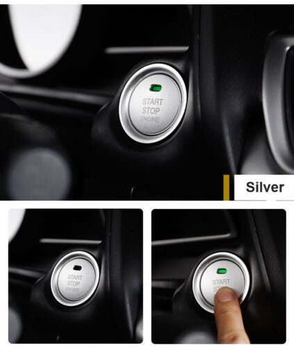 Car Engine Start Push Buttons Cover Sticker Trim For Mazda 3 Axela 2014-2017 CX5