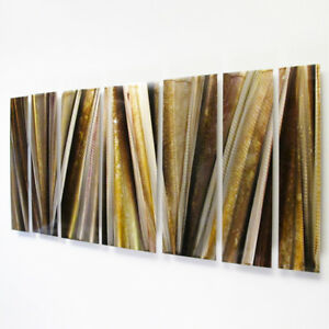 Modern Abstract Metal Wall Sculpture Art Contemporary ...