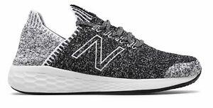 New-Balance-Men-039-s-Fresh-Foam-Cruz-Sockfit-Shoes-Black-With-White