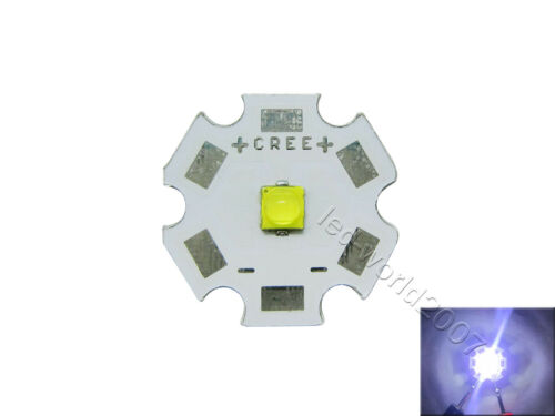10x 1W-6W Cree XLamp XPG3 XP-G3 Blanco//Luz LED Blanco Cálido 2.73-3.06V 350-2000 mA