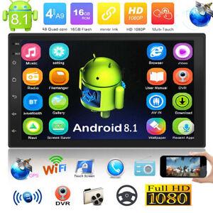 2DIN-7-034-Android-8-1-Autoradio-Stereo-GPS-WIFI-Bluetooth-MP5-Player-FM-USB-AUX
