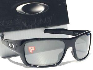 00b1c195bd6 NEW  Oakley TURBINE Black Polished w POLARIZED PRIZM Black Sunglass ...