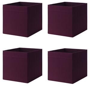Aufbewahrung DRÖNA IKEA Box Fach Regal 33x38x33cm 4 St. schwarz KALLAX