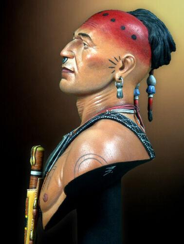 █ Resin 1//10 Figure Bust Mohawk Warrior Unpainted Unassembled 3311
