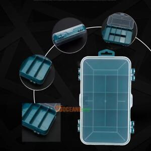 Plastic-Tool-Box-Case-Double-face-petits-composants-de-stockage-Organisateur-Recipient