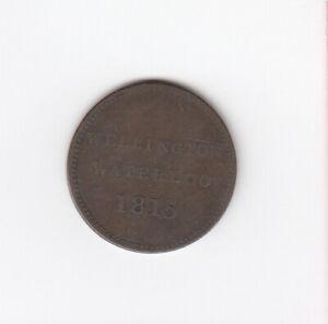 1815 CANADA HALF PENNY WELLINGTON WATERLOO TOKEN COIN